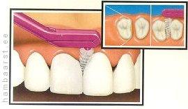 Hambavaheharja kasutamine