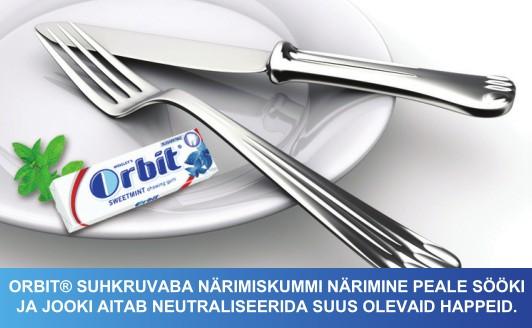 Orbit pärast sööki